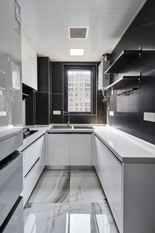 130平現代風廚房裝修效果圖