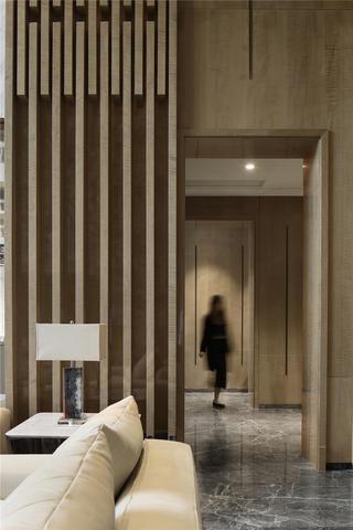 现代简约别墅走廊装修效果图
