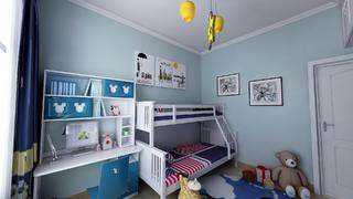110平混搭风格儿童房装修效果图