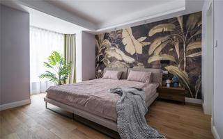 大户型复式现代简约卧室装修效果图