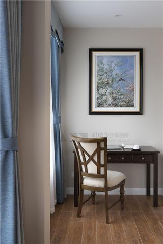 美式风格别墅装修书桌设计