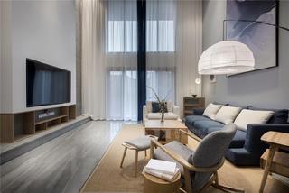 日式风格四居客厅装修效果图