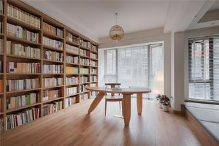 日式风格四居书房装修效果图