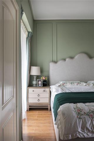 美式风格别墅装修床头一角