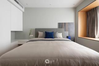 180㎡简约现代风卧室装修效果图