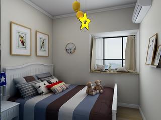 简美四居室儿童房装修效果图