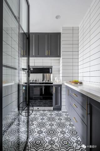 70㎡法式两居厨房装修效果图