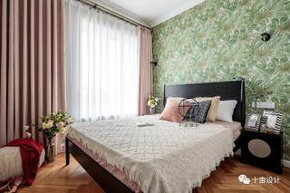 70㎡法式两居卧室装修效果图