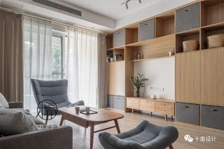 日式风格三居客厅装修效果图