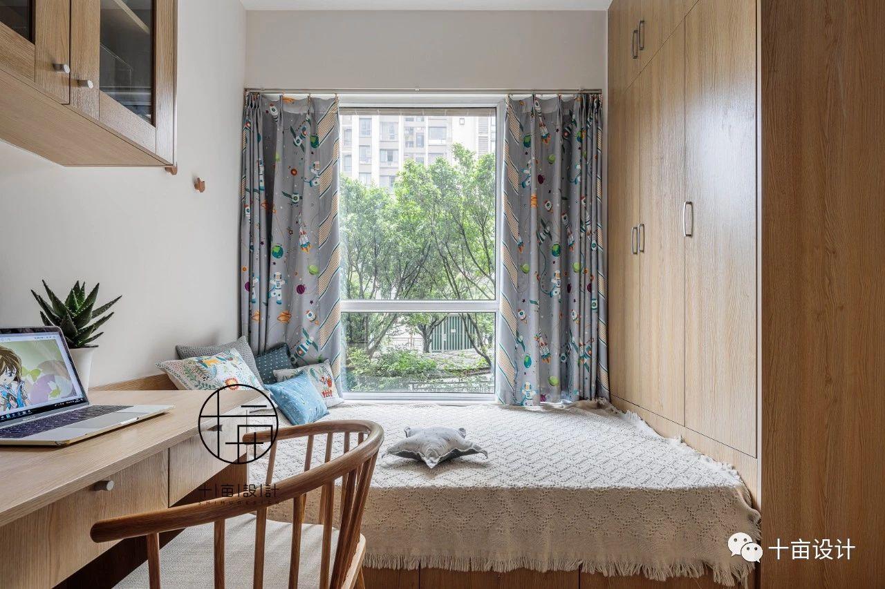 日式风格三居榻榻米儿童房装修效果图