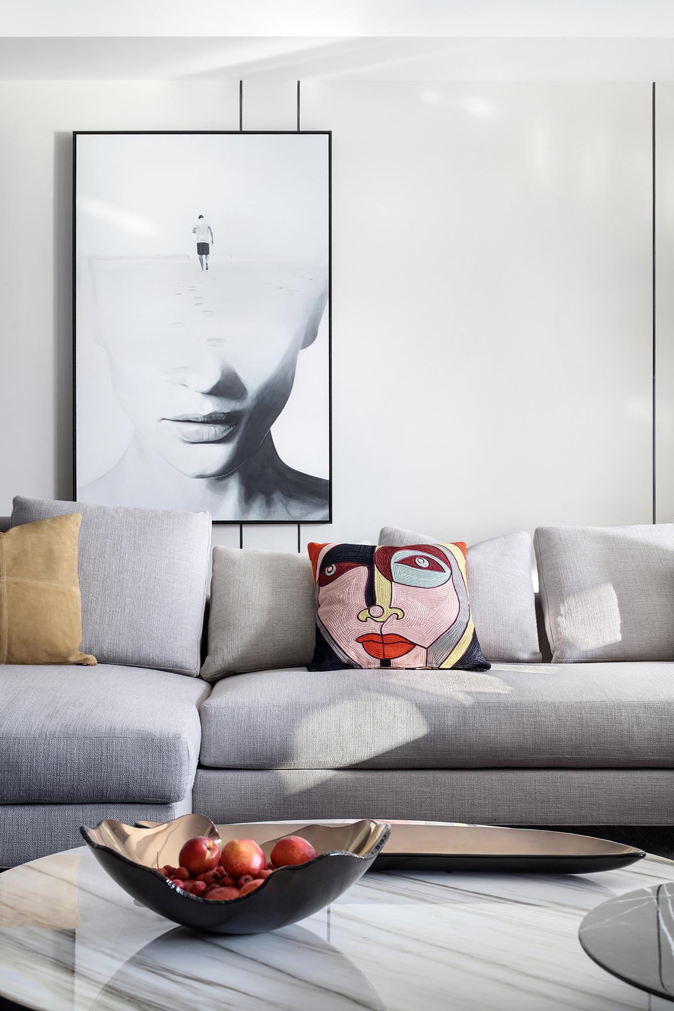 大户型现代风装修沙发设计图