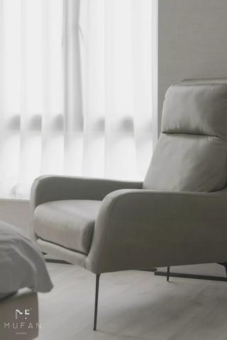 152㎡简约现代风装修休闲沙发椅设计
