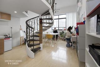 50㎡loft公寓客厅装修效果图