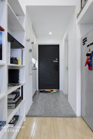 50㎡loft公寓玄关装修效果图