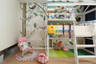 85平北欧风格儿童房装修效果图