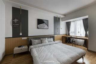 现代风格四居卧室装修效果图