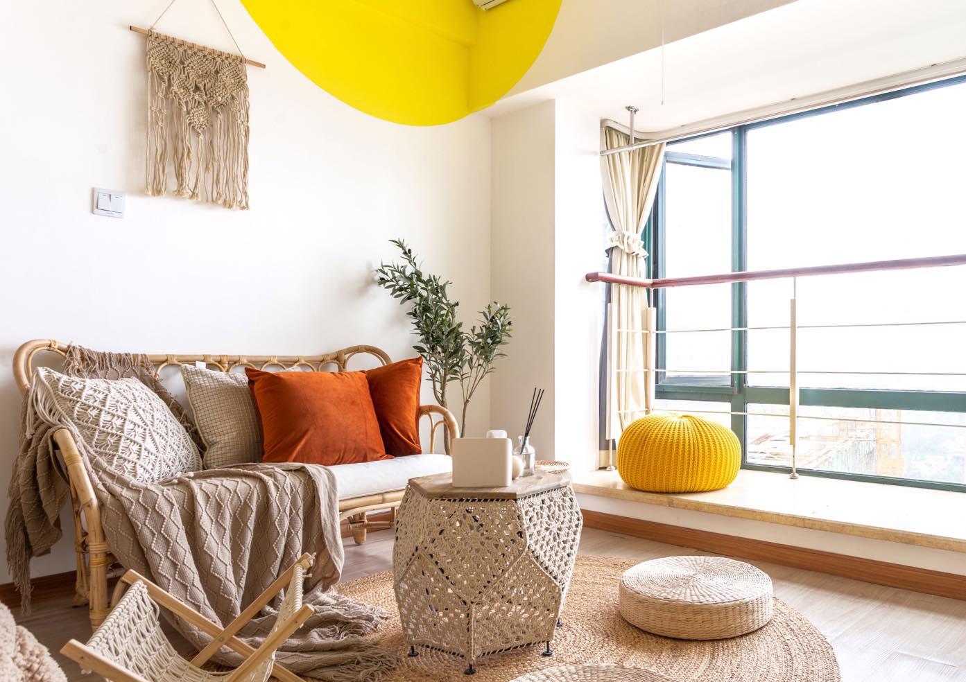 26平米一居室客厅装修效果图