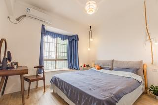 80平北欧风格卧室装修效果图