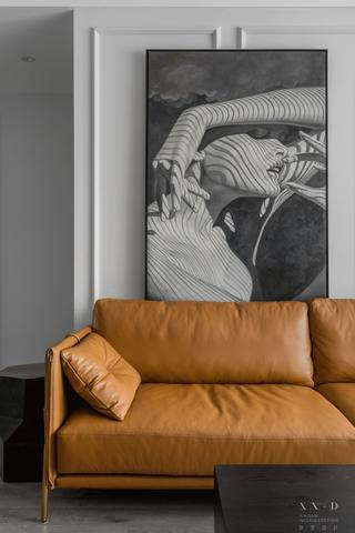 88平米二居室装修沙发设计图