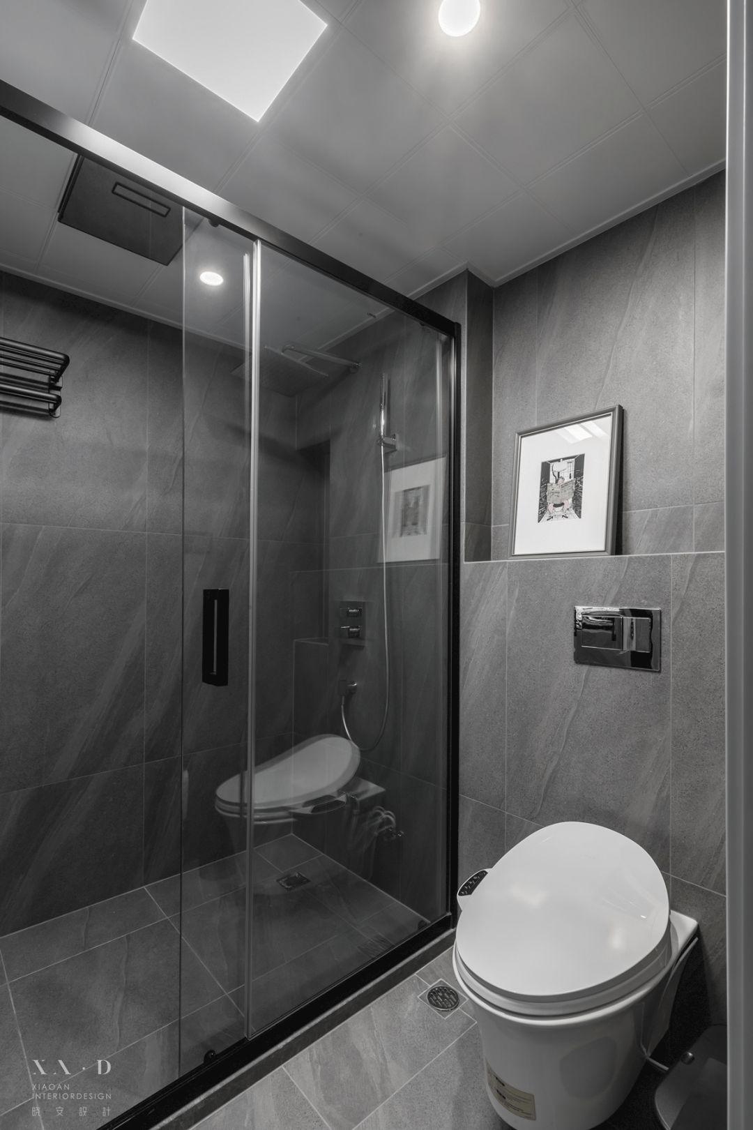 88平米二居室卫生间装修效果图