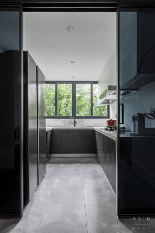 88平米二居室厨房装修效果图
