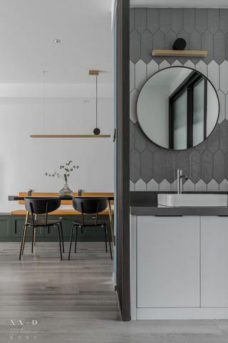 88平米二居室洗手台装修效果图