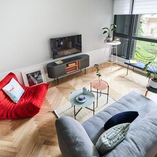 小户型北欧二居装修效果图