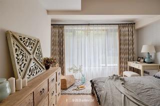 130㎡休闲美式风卧室装修效果图