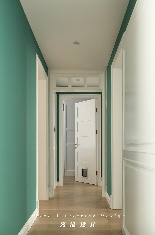 140㎡混搭风格走廊装修效果图