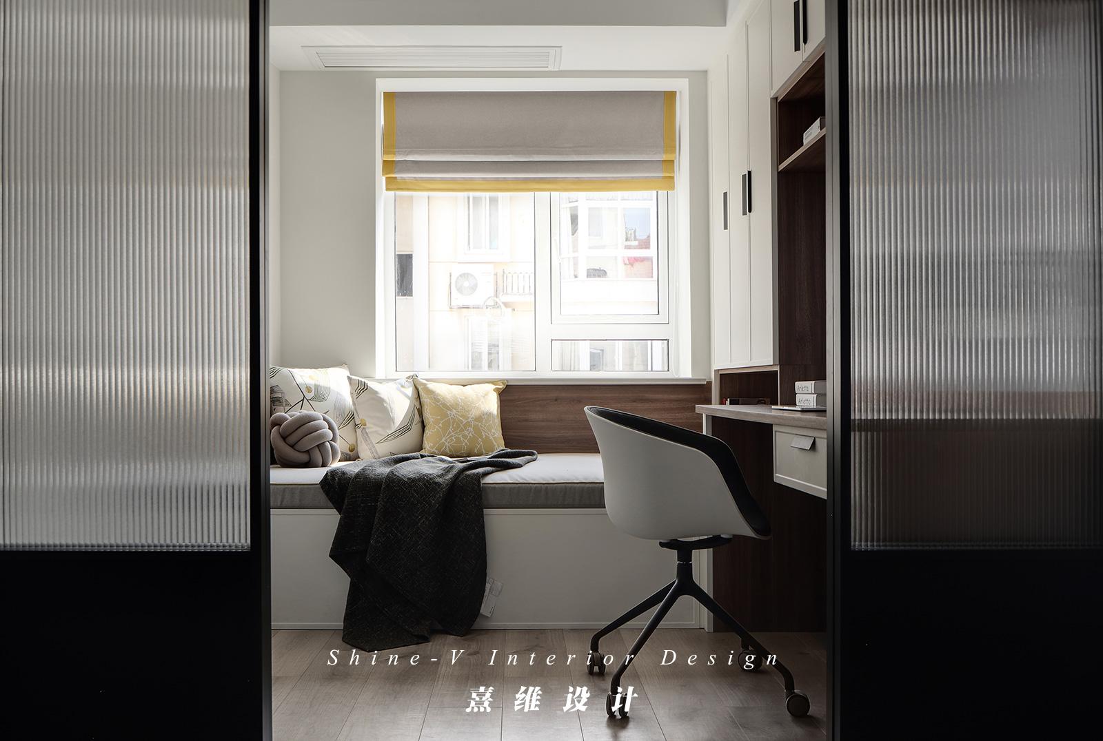 北欧风格三居书房装修效果图