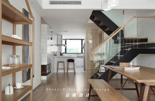130平日式风格餐厅装修效果图