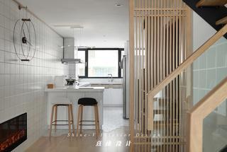 130平日式风格厨房装修效果图