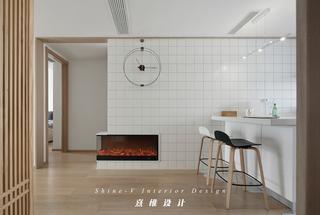 130平日式风格装修壁炉设计图