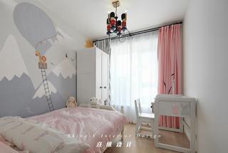 130平日式风格装修儿童房效果图