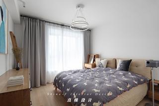 130平日式风格卧室装修效果图