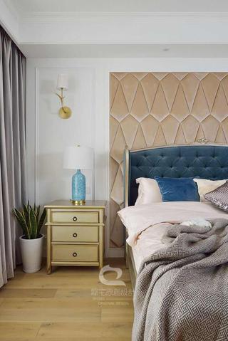 170平美式风格装修床头柜设计图