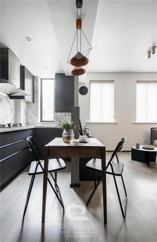 44平小户型公寓厨餐厅装修效果图
