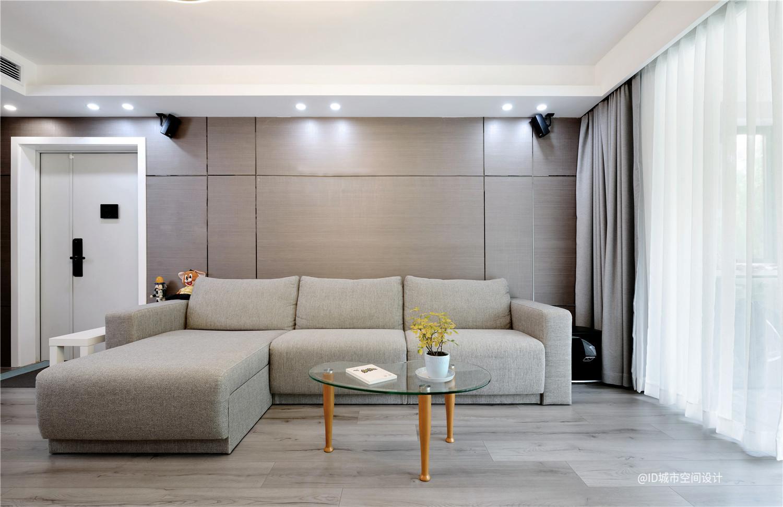 112平米现代风沙发背景墙装修效果图