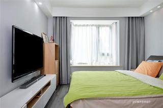 112平米现代风卧室装修效果图