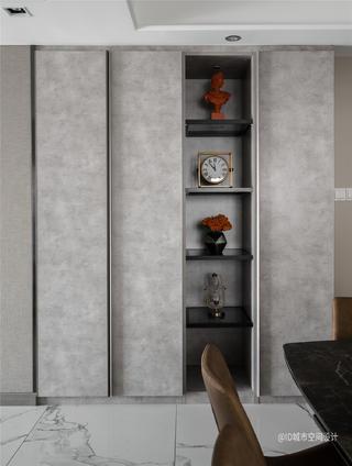 85㎡现代简约装修展示柜设计