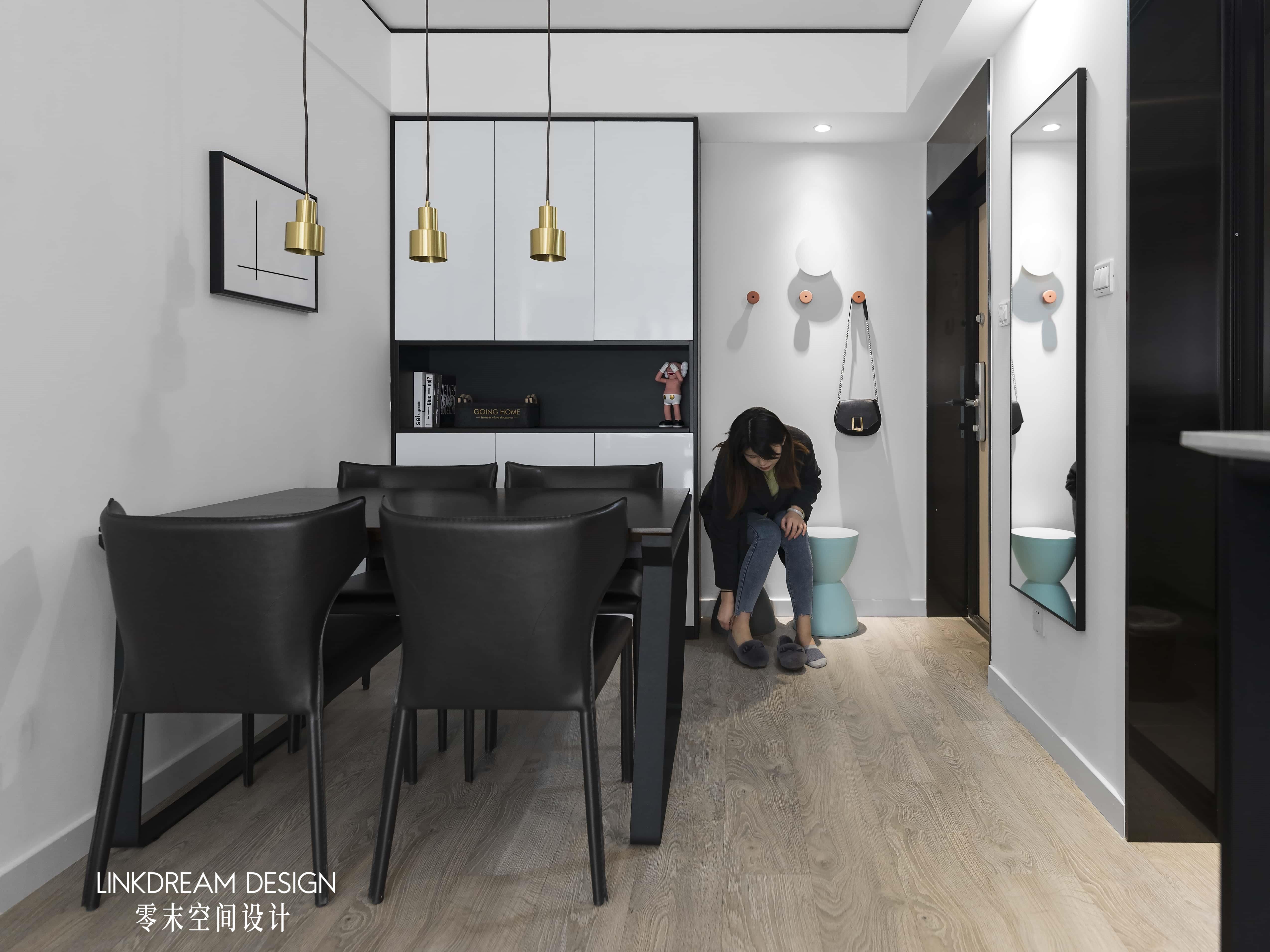 60平米两居室餐厅装修效果图