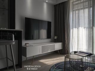 60平米两居室电视墙装修效果图
