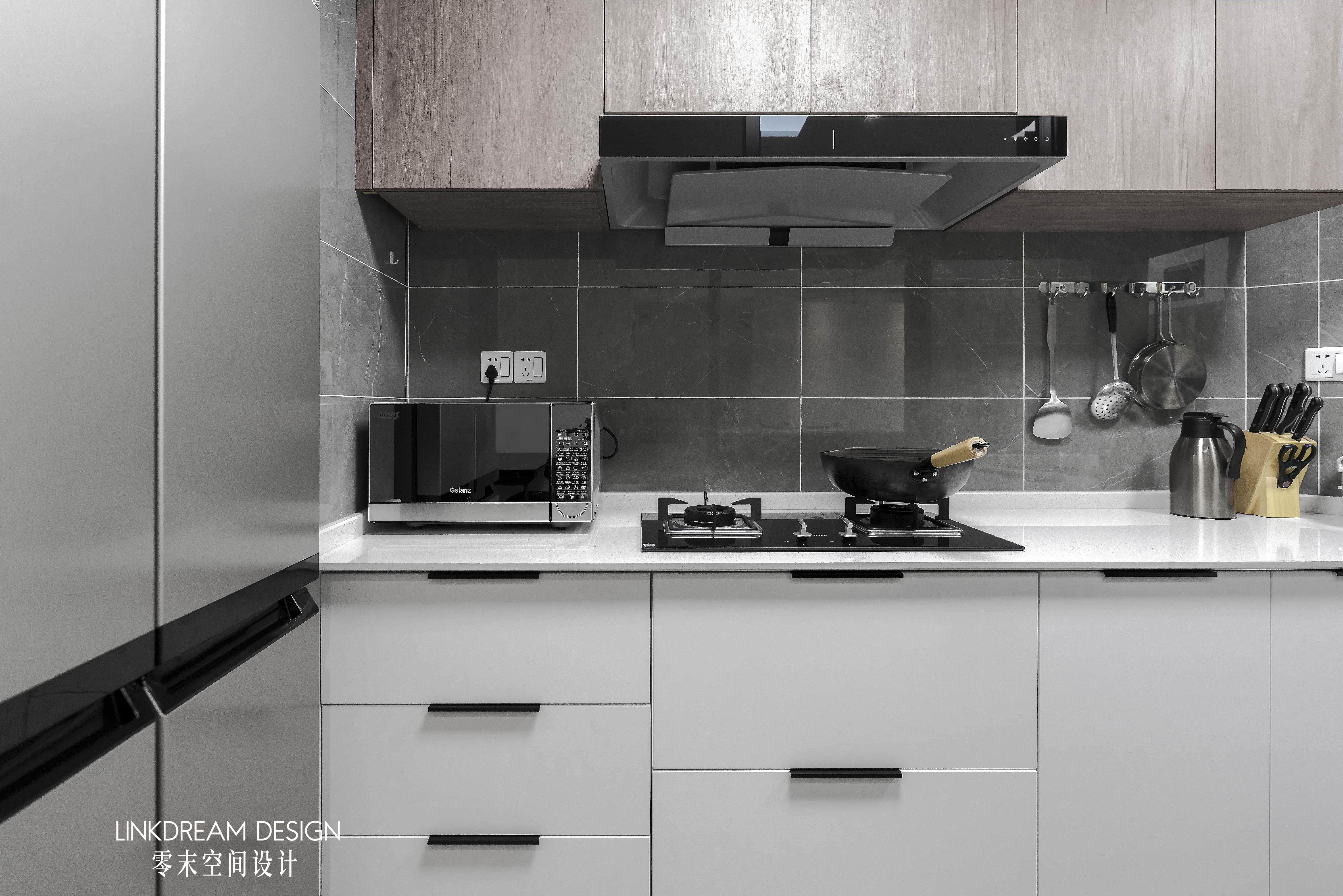 60平米两居室厨房装修效果图