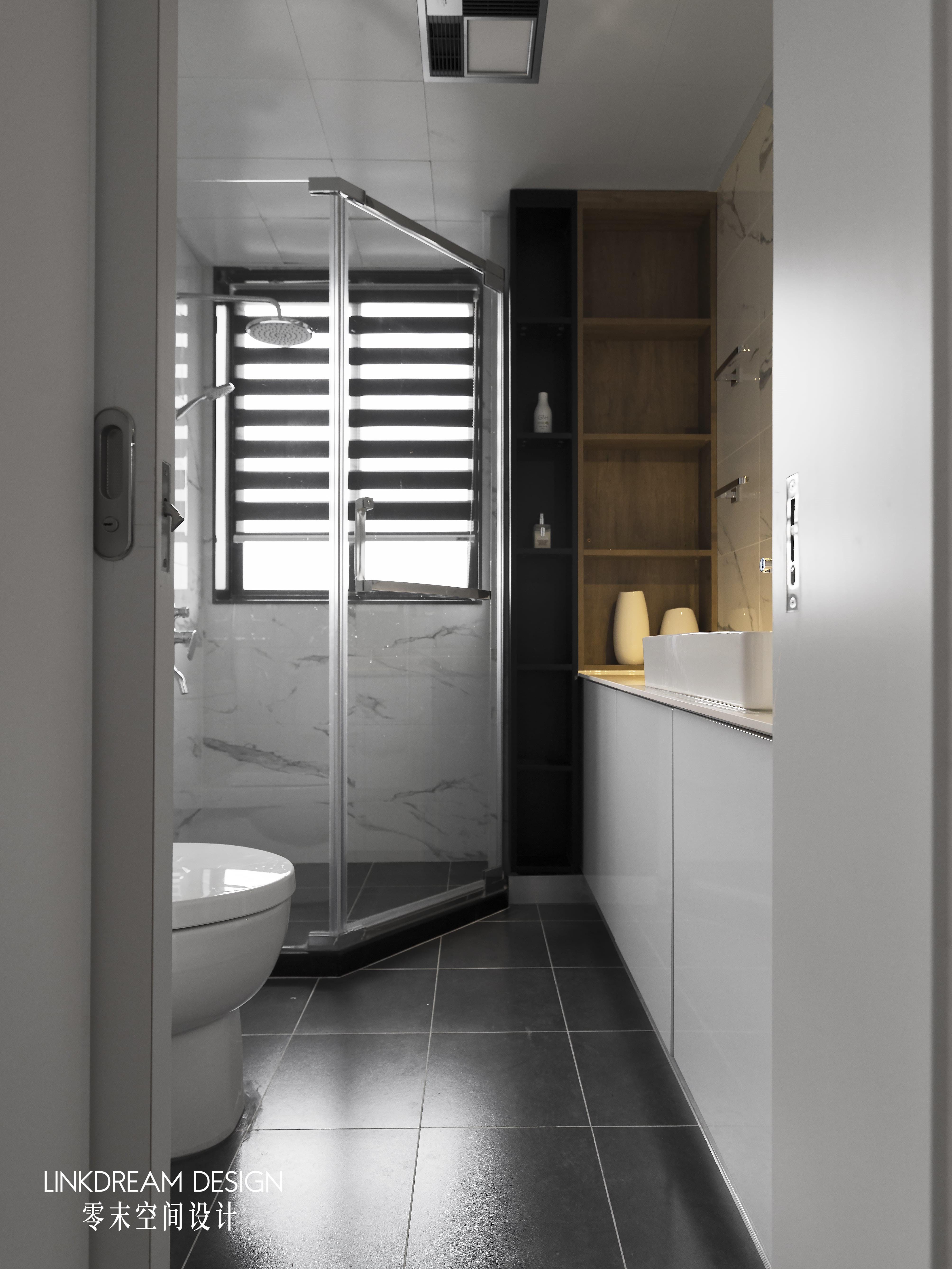 60平米两居室卫生间装修效果图