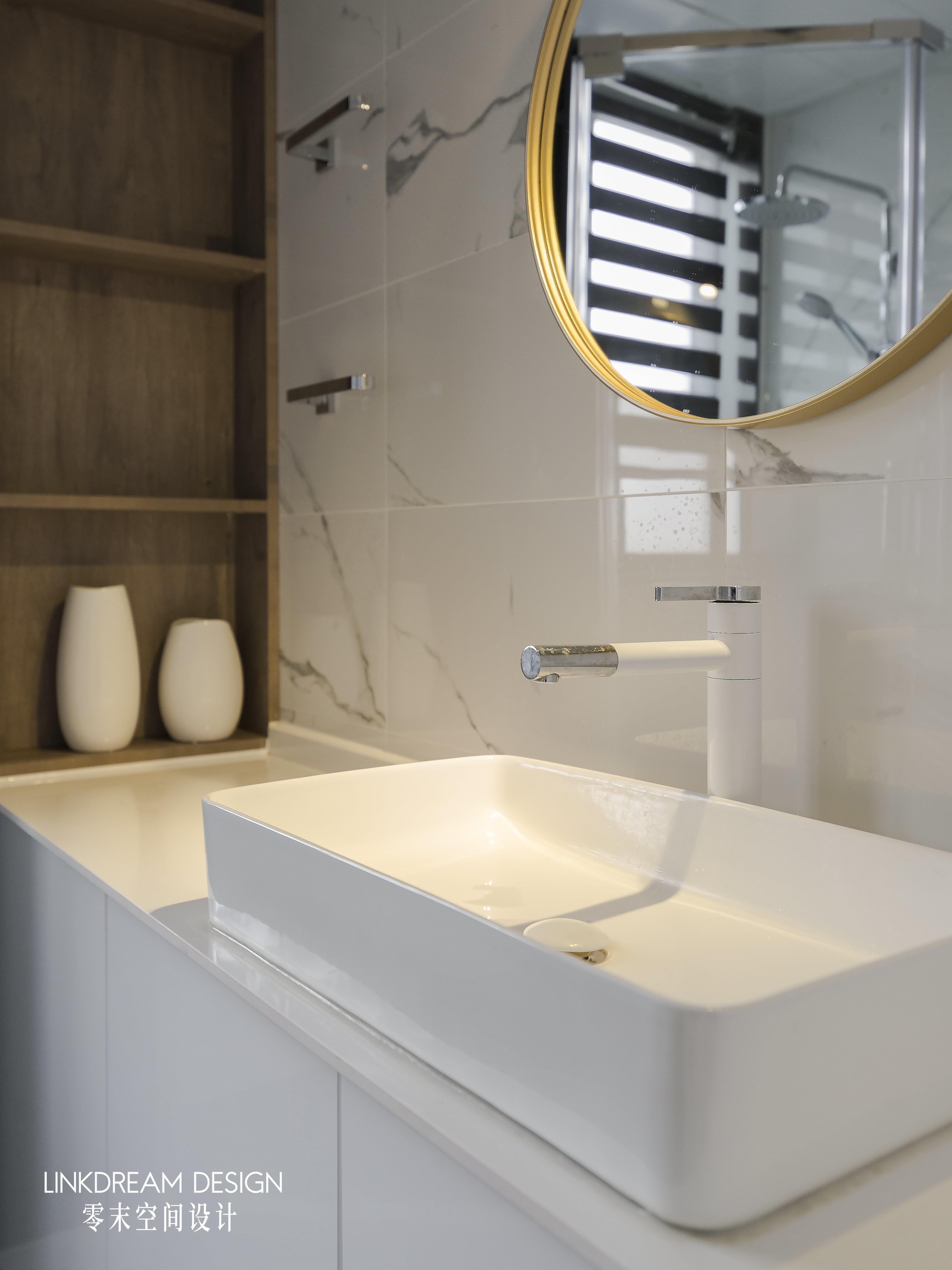 60平米两居室洗手台装修效果图