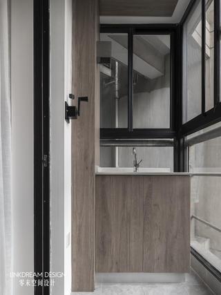 60平米两居室阳台装修效果图