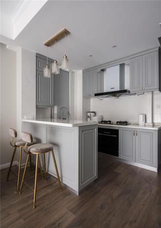 90㎡现代美式风格厨房装修效果图