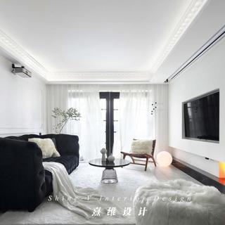 115㎡混搭两居室装修效果图