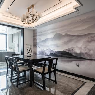 新中式风三居室装修注册送300元现金老虎机图