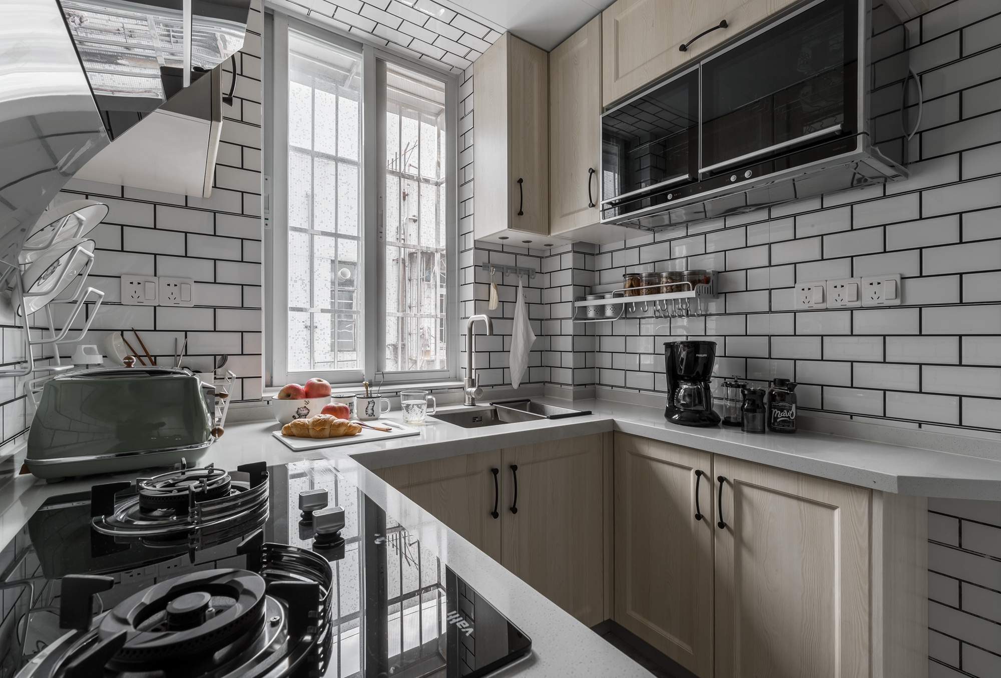 北欧风格两居室厨房装修效果图
